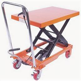 Грузоподъемное оборудование - Стол подъемный TOR PTS800 г/п 800кг, подъем…, 0