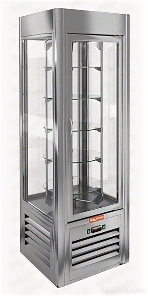 Витрина кондитерская HiCold VRC 350 R Sh по цене 105030₽ - Холодильные витрины, фото 0