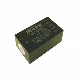 Кабели и разъемы - AC/DC конвертер HLK-PM12, 12В 3Вт, 0