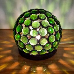 Ночники и декоративные светильники - Сферический ночник в стиле Тиффани., 0