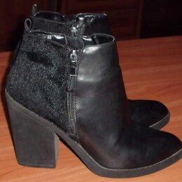 Ботинки - Ботинки демисезонные натуральная кожа р.40 ст.26 см, 0