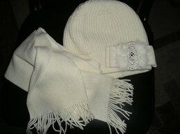 Головные уборы - Новые шапка+ шарф. Шерсти 80%, 0