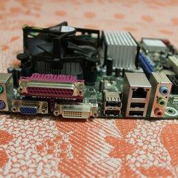 Материнские платы - Материнка Intel LGA 775 + 1.8  ГГц 1 ядро 64 bit, 0