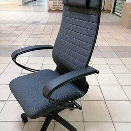 Компьютерные кресла - Кресло метта комплект 27, серое, pl, 0
