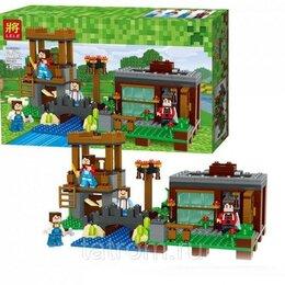 Игровые наборы и фигурки - Конструктор Minecraft My World «Летний домик», 0