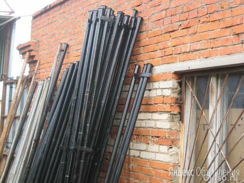Железные столбы для забора Алексин по цене 478₽ - Заборы, ворота и элементы, фото 0