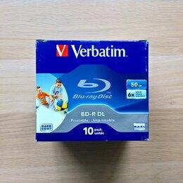 Диски - Blu-ray диски Verbatim 43736 BD-R DL 50GB, 10 шт, 0