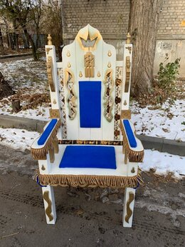 Кресла и стулья - Трон-Кресло, 0
