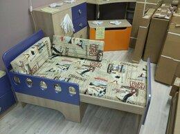 Кроватки - Детская кровать вырастайка Жили-Были (Синий), 0