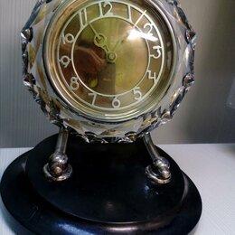 Часы настольные и каминные - Часы Маяк в хрустальном корпусе, 0