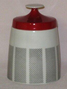 Солонки, перечницы и ёмкости для специй - Сахарница Lichte Porzellan made in GDR, 0