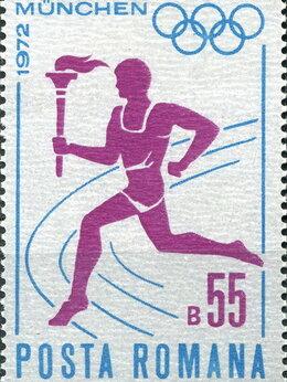 Марки - Спорт. Летние олимпийские игры в Мюнхене.…, 0