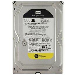 Внешние жесткие диски и SSD - Винчестер SATA 500Gb WD, 0