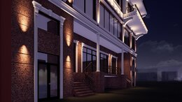 Уличное освещение - Освещение фасада здания,территории, 0