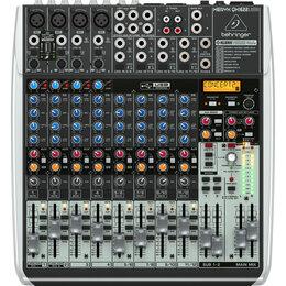 Микшерные пульты - Behringer XENYX QX1622USB Микшерный пульт с USB/аудио интерфейсом, 0
