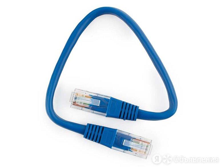 Патч-корд UTP Cablexpert PP10-0.25M/B кат.5e 0.25м по цене 40₽ - Кабели и разъемы, фото 0