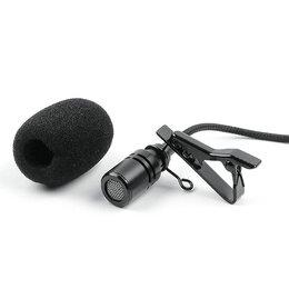 Микрофоны и усилители голоса - Микрофон Evisu-M001 петличный, 0