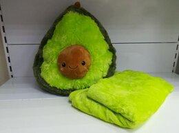 Мягкие игрушки - Мягкая игрушка Авокадо 40х30 см с пледом, 0