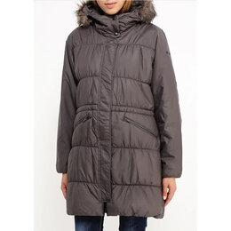 Куртки - Женская длинная куртка Columbia (р. М / 46), 0
