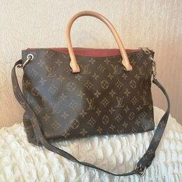 Сумки - Женская сумка натуральная кожа Louis Vuitton, 0
