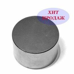 Магниты - Неодимовый магнит 50x30 диск, 0