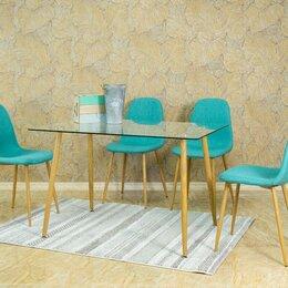 Столы и столики - Стол стеклянный прямоугольный 120*80, 0