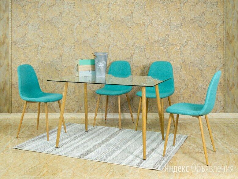 Стол стеклянный прямоугольный 120*80 по цене 6375₽ - Столы и столики, фото 0