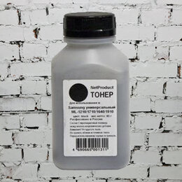 Чернила, тонеры, фотобарабаны - NetProduct Тонер для  SAMSUNG универсальный ML-1210/1250/1615/1710/2015 80 г,, 0