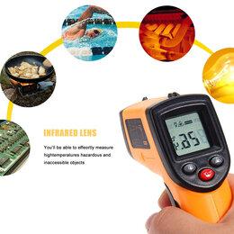 Измерительные инструменты и приборы - Инфракрасный термометр, пирометр, градусник., 0