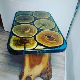 Столы и столики - Стол дуб, Эпоксидная смола, 0