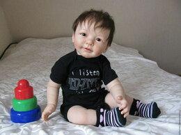Куклы и пупсы - Силиконовая Кукла-Реборн мальчик, 0