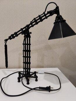 Настольные лампы и светильники - Лампа настольная в стиле лофт, 0