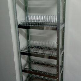 Мебель для учреждений - Стеллаж для тарелок и стаканов HESSEN, 0