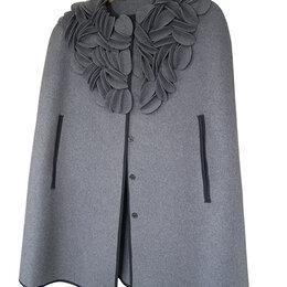 Накидки - Женское демисезонное пальто-накидка, новое, 0