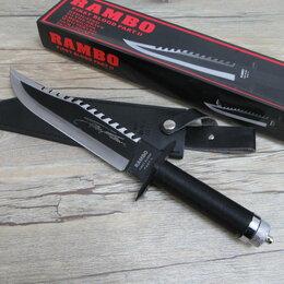Ножи и мультитулы - нож для выживания рембо 2, 0