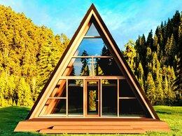 Архитектура, строительство и ремонт - Строительство А-фрейм (a frame house) домов в…, 0