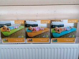 Надувная мебель - Надувной матрас детский с подушкой Новый, 0