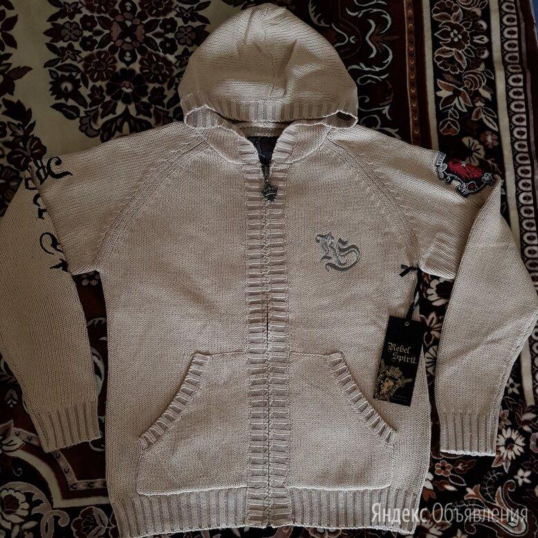"""Новый свитер с капюшоном Rebel Spirit""""affliction по цене 9900₽ - Свитеры и кардиганы, фото 0"""