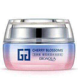 Антивозрастная косметика - Крем для лица BioAqua Cherry Blossoms Facial Cream, 0