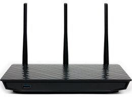 Оборудование Wi-Fi и Bluetooth - Беспроводной роутер Asus RT-N18U USB 3.0/2.0…, 0
