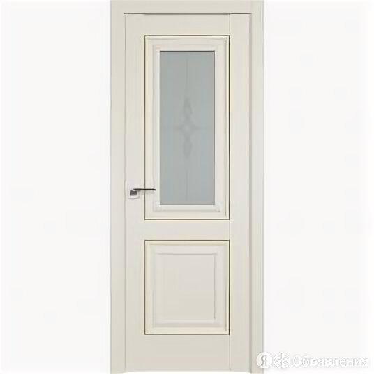 Межкомнатные двери Profil Doors 28U Магнолия Сатинат Стекло Узор матовое Молд... по цене 16433₽ - Межкомнатные двери, фото 0
