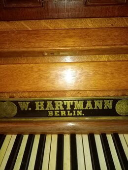 Клавишные инструменты - Слоновая кость, Серебро, антикварное пианино '…, 0