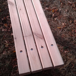 Скамейки - скамейка 150х32х40 см. из дерева, 0