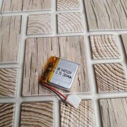 Батарейки - Аккумулятор Li-Pol (4*20*20mm, 300 mAh), 0