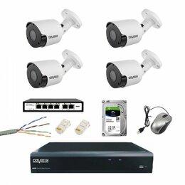 Готовые комплекты - Комплект IP видеонаблюдения под ключ, 0