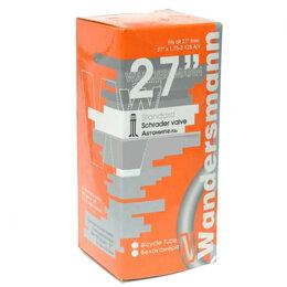 "Покрышки и камеры - Велокамера Wandersmann 27"" 1,75-2,125 A/V, 0"