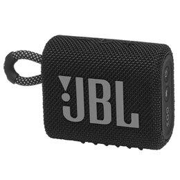 Портативная акустика - Портативная колонка JBL GO 3 / Black, 0