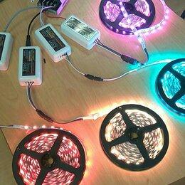 Светодиодные ленты - Светодиодная лента RGB 60 leds ip20 , 0