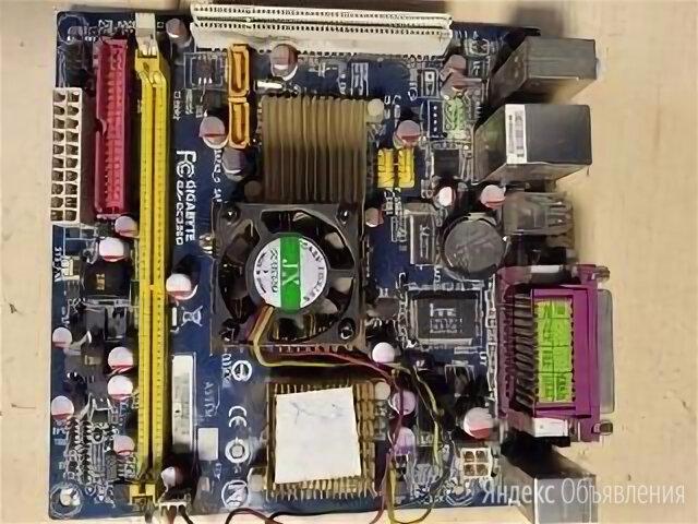 Материнская плата gigabyte ga-gc230d по цене 1000₽ - Материнские платы, фото 0
