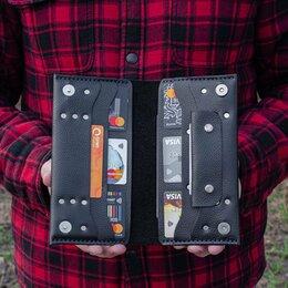 Кошельки - Портмоне кошелек из натуральной кожи. Шью из кожи, 0